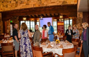 Guests at the ASU PEP Breakfast Gather at The Rim Club